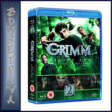 GRIMM - COMPLETE SEASON 2   **BRAND NEW BLU-RAY   **