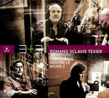 ROMANO SCLAVIS TEXIER - 3 + 3 - 2011 - CD NEUF NEW NEU