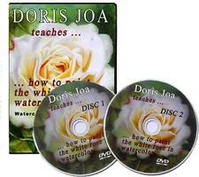 Watercolor Instruction DVD on how to paint roses
