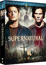 Supernatural - Series 4 - Complete (DVD, 2009, 6-Disc Set, Box Set) cult series