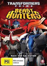 Transformers Prime Beast Hunters DVD Region 4 BRAND NEW