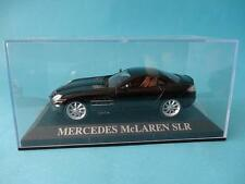 MERCEDES SLR MCLAREN - BLACK / NEGRO - 1/43 NEW / NUEVO  IXO / ALTAYA DREAM CARS