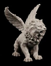 Geflügelter Löwe - Fantasy Deko Figur Gargoyle Statue Chimäre