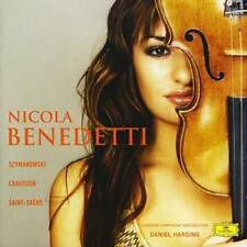 NICOLA BENEDETTI with Daniel Harding & London Symphony      *** BRAND NEW CD ***