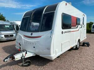 SOLD | BAILEY UNICORN SEVILLE | 2016 | 2 BERTH TOURING CARAVAN | ONE OWNER