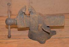 Craftsman 5162 antique blacksmith vise Rock Island Mfg collectible parts repair
