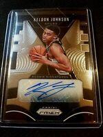 2019-2020 NBA Panini Prizm Keldon Johnson Auto RC Spurs