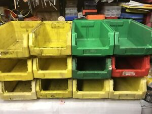 12 storage bins Garage Shed Like Lin Bins   COLOURS MAY VARY
