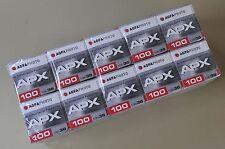 AgfaPhoto APX 100 135-36 (Kleinbild) -10 Filme - Ablauf- 01 / 2021