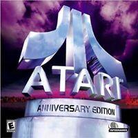 Atari Anniversary Edition Asteroids Centipede Gravitar + 9 More Games New in Box
