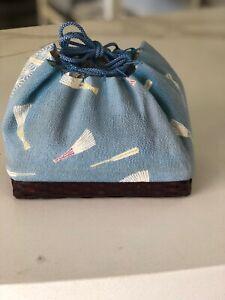 Japanese Kimono Accessory-Vintage Kinchaku Bag