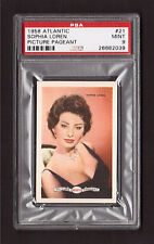 Sophia Loren 1958 Atlantic Picture Pageant Film Star Card #21 PSA 9 MINT