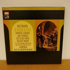 SLS 5006 BEETHOVEN Fidelio OTTO KLEMPERER  CHRISTA LUDWIG  HMV 3LP BOX EX