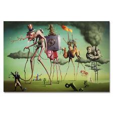 G139 Psychedelic Salvador Dali Abstract Art Poster Silk Cloth Print