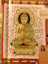 Oriental Golden Buddha By Joan Elliott Cross Stitch Chart