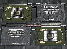 2PCS Original KINGSTON KE4CN4K6A eMMC NAND 16G BGA IC