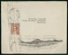 Mayfairstamps Argentina Tierras Blancas Virginia Lincoln Corp Cover wwm_48747