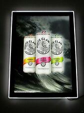 New Rare White Claw Hard Seltzer Motion Craft Led Beer Bar Sign Light