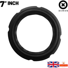 """7"""" inch Speaker Woofer Rubber Edge Surround Repair Part 170mm Universal Replace"""