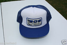 Ball Cap Hat - BOS Redwater Well Servicing Ltd - Oil Gas Drill Rig  (H1404)