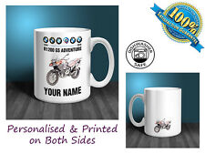 BMW R1200GS Adventure Motorbike Personalised Ceramic Mug Gift (MB031)