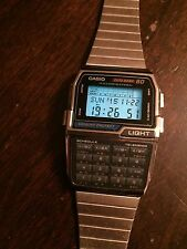 NEW NOS CASIO DBC-810 DATABANK 80 MEMORY CALCULATOR WATCH 1996 RARE VINTAGE