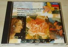 TCHAIKOVSKY-ROMEO & JULIET-FULL SILVER RING DECCA CD 1989-ASHKENAZY-RARE