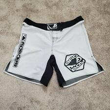 Bad Boy PRO Series Gray adn Black MMA Fight Shorts - Rare 2XL Luta Livre