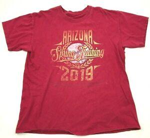 MLB Arizona Diamondbacks Shirt Size Medium M Red Short Sleeve Baseball Tee Adult