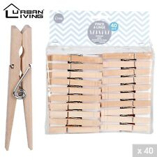 60-360 Holz Wäscheklammer Größe 10 cm Holz Wäsche Klammer XXL Klammern