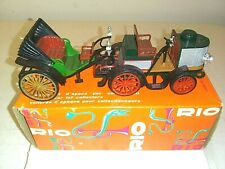 "Rio Brand Die Cast Car-1894 De Dion Bouton ""Victoria""- 2 pieces-Boxed-Steam-1:43"