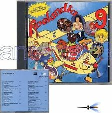 "CRISTINA D'AVENA ""FIVELANDIA 9"" RARO CD 1991 -SIGILLATO"