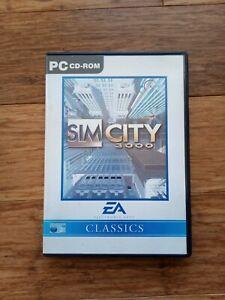 Sim City 3000 for PC (Windows 95 / 98 CD-ROM).