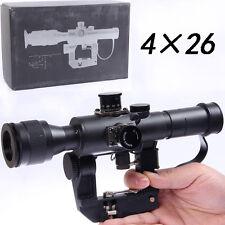 UFC Russian POSP 4x26 SVD AK Red Illuminated Sniper Scope (Airsoft) Marui G&P