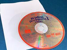 Rare Vintage Reader Rabbit Reading Development 1 Kids Educational Pc Mac Cd