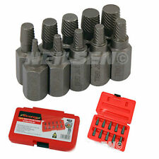 Neilsen Screw Bolt Extractor Set Boken Snaped Off 10 Piece Case  20A