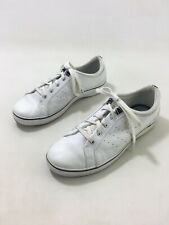 Keds Womens White Leather Solid Lace Up Oxford Sneakers US Sz 8.5 EU Sz 39.5