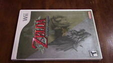 The Legend of ZELDA TWILIGHT PRINCESS Nintendo Wii Game Complete