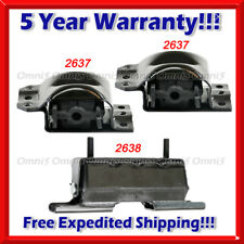 M383 For Chevy 4WD Tahoe, 95-00 5.7L/ 95-99 6.5L Diesel, Motor & Trans Mount 3pc
