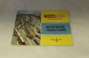 TRIANG HORNBY TRACK PLANS BOOKLET SUPER 4 R/166/36926/2