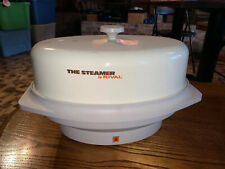 The Steamer by Rival Cream Color Electric Food Steamer Model 4450-503 (bldg)