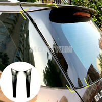 Black Rear Window Spoiler Side Wing Trim Cover For Benz ML GLE W166 2012-2019