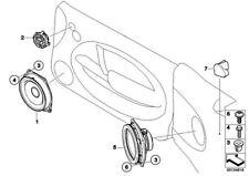 Original BMW 65133451767 - Lautsprecher hinten Stereo System MINI