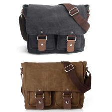 Universal Vintage Canvas DSLR SLR Camera Bag Travel Shoulder Messenger Bag Pouch