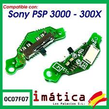 INTERRUPTOR DE ENCENDIDO PARA SONY PSP 3000 3004 ON OFF PLACA BOTON FLEX POWER