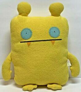 Uglydoll Ugly Doll Nandy Bear Yellow Plush Stuffed Toy 14 inch Retired 2010