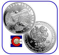 2012 Armenia 1 oz Silver 500 Drams Noah's Ark Coin in airtite