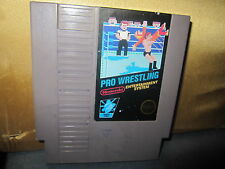 Nintendo Pro Wrestling (1987) (5 SCREWS ON BACK CARTRIDGE) CART ONLY