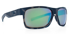 Costa Del Mar Half Moon Ocearch Men Sunglasses Tiger Shark / Green Mirror 580P