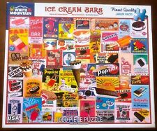 White Mountain Jigsaw Puzzle - Ice Cream Bars - 1000 pieces